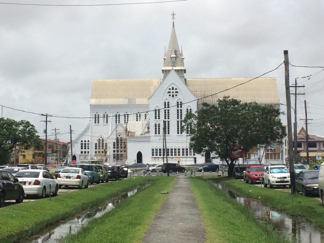 The Anglican Cathedral in Georgetown, Guyana